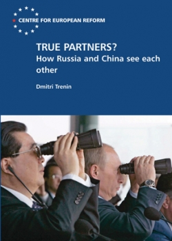 CER/Carnegie Moscow Center seminar on 'Russia, China and the global power shift' event thumbnail