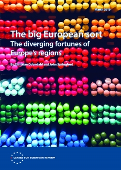 Seminar on 'The big European sort: The diverging fortunes of Europe's regions' with Lorenzo Codogno and Peter Sanfey