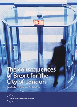The consequences of Brexit for the City of London