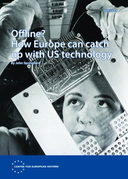 Offline? How Europe can catch up with US technology